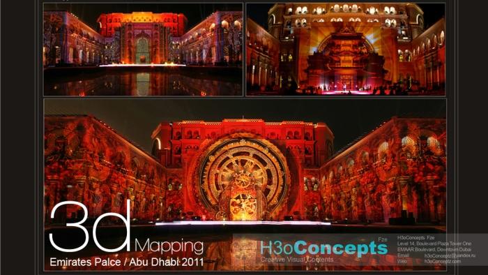H3oConceptz.com 3dMapping Emirates Palace