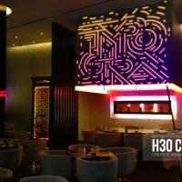 """Kanpai""/ Mapping content / Bar & restaurant / Dubai 2016"