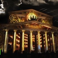 """Theaters Of The World"" / Mapping Content Production / Circle Of Light International Festival / Moscow 2014"