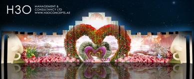 Wedding 3d mapping effect_A_08
