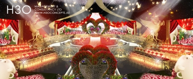 Wedding 3d mapping effect_A_095