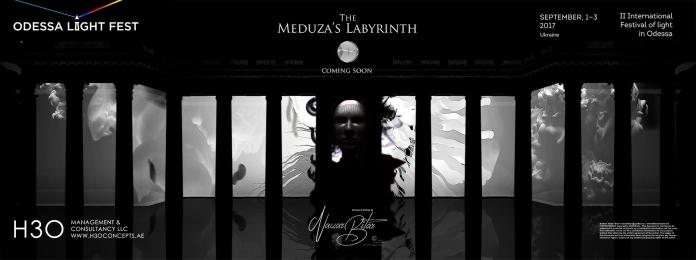 H3Omc_Odessa LF2017_3D mapping_Meduza Labyrinth_00