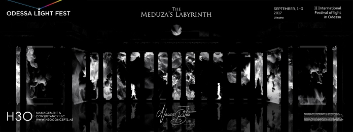 H3Omc_Odessa LF2017_3D mapping_Meduza Labyrinth_01