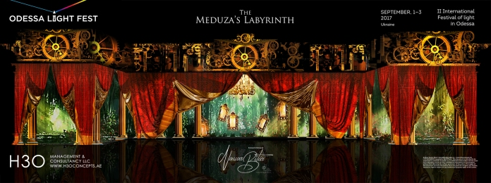 H3Omc_Odessa LF2017_3D mapping_Meduza Labyrinth_02