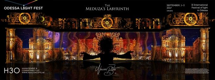 H3Omc_Odessa LF2017_3D mapping_Meduza Labyrinth_03