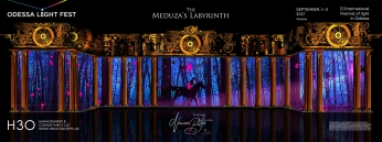 H3Omc_Odessa LF2017_3D mapping_Meduza Labyrinth_07