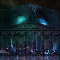 "Bolshoi Theater ""Nature Theme""/ Mapping content production animated visualization/ Russia, Moscow 2014"
