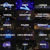 3D Mapping / Playstation 5 / World Landmarks launch reveal / Saudi Arabia / 2020